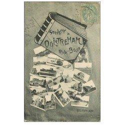 carte postale ancienne 14 OUISTREHAM. Album de cartes postales 1906