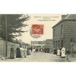 62 NOREUIL. Canton de Croisilles. Estaminet Mercier Rue de Queant 1909