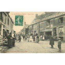 SAINTE GEMMES LE ROBERT. Maréchal Ferrant Route d'Assé vers 1909
