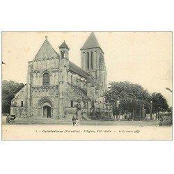 carte postale ancienne 14 OUISTREHAM. Eglise 1