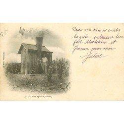 69 VILLEFRANCHE-SUR-SAONE. Le Canon Agricole contre la Grèle 1903. Invention d'époque