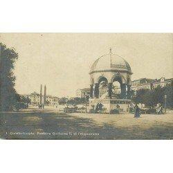 TURQUIE. Fontaine Guillaume et Hippodrome 1919