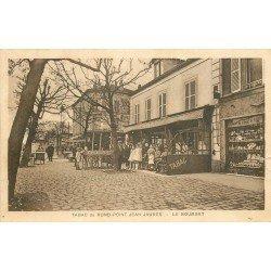 93 LE BOURGET. Café Tabac du Rond Point Jean Jaurès et Horlogerie