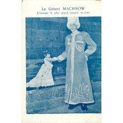 PARIS OLYMPIA 09. Le Géant Machnow l'Homme le plus grand du Monde