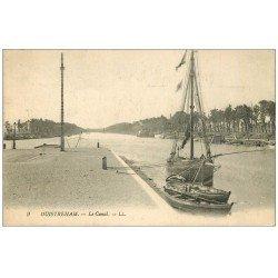 carte postale ancienne 14 OUISTREHAM. Le Canal