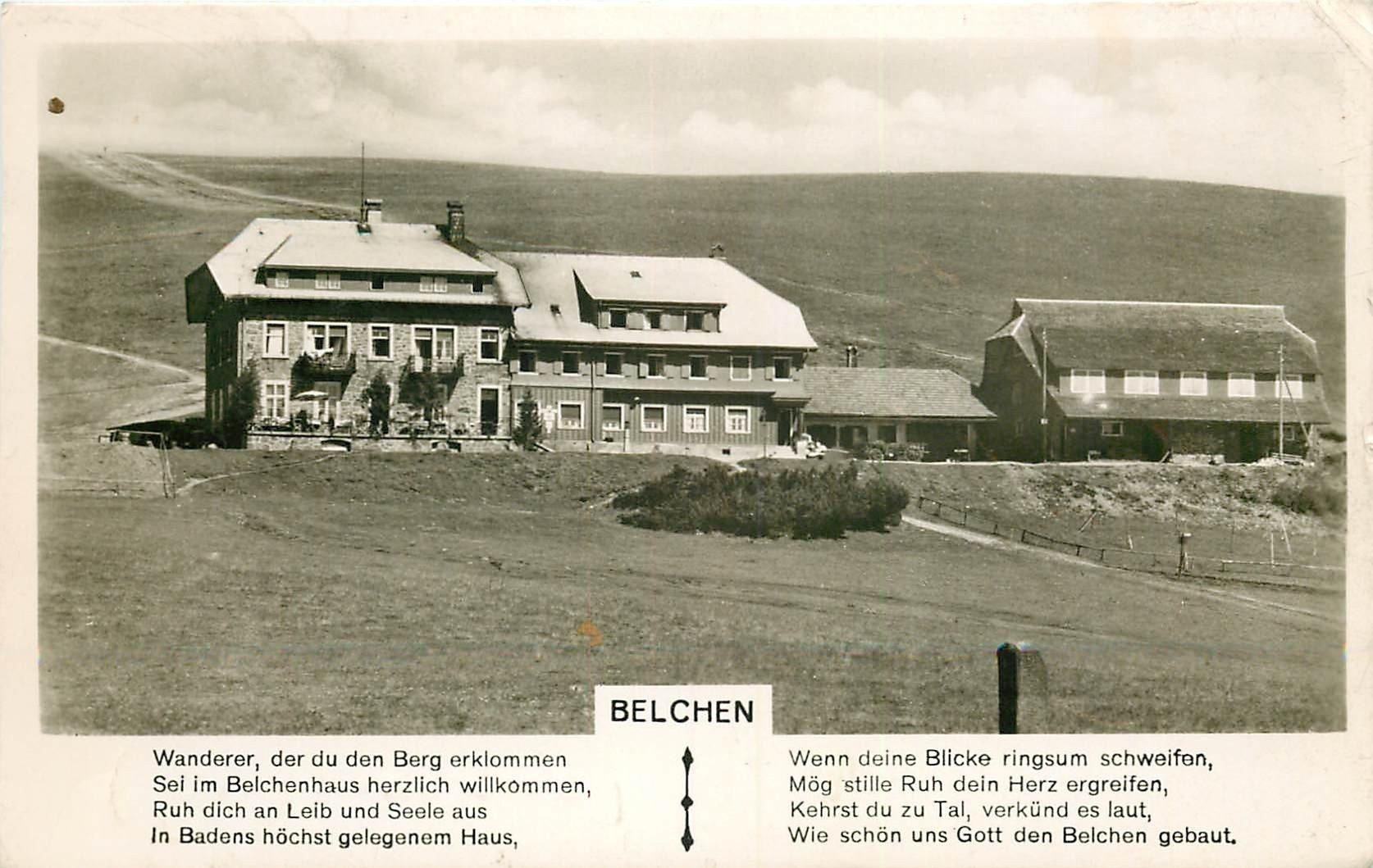 ALLEMAGNE. Belchen 1954