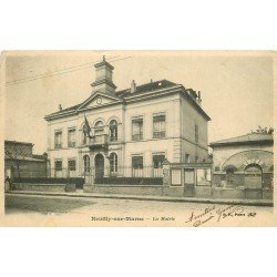 93 NEUILLY-SUR-MARNE. La Mairie écrite en 1905 au comédien Ameline
