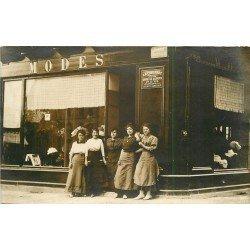 19 BRIVE LA GAILLARDE. Magasin de Modes Place Krüger et rue Puy Blanc. Photo carte postale