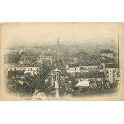 93 SAINT-DENIS. Vue générale sur les toits de la Villevers 1900