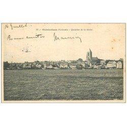 carte postale ancienne 14 OUISTREHAM. Quartier de la Grève 1907