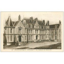 carte postale ancienne 14 PONT-L'EVÊQUE. Château de Betteville