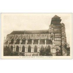 carte postale ancienne 14 PONT-L'EVÊQUE. Eglise