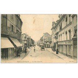 carte postale ancienne 14 PONT-L'EVÊQUE. Hôtel du Bras d'Or Rue Hamelin