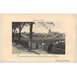 carte postale ancienne 14 PONT-L'EVÊQUE. Nouvelle Route de Lisieux
