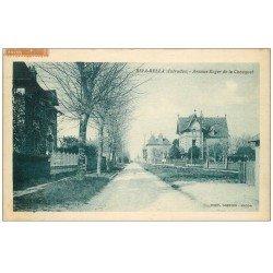 carte postale ancienne 14 RIVA-BELLA. Avenue Roger de la Chouquet 1928