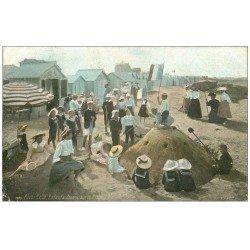 carte postale ancienne 14 RIVA-BELLA. Enfants jouant 1910