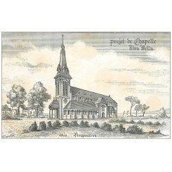 carte postale ancienne 14 RIVA-BELLA. Projet de Chapelle