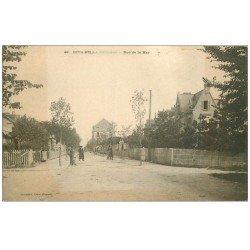carte postale ancienne 14 RIVA-BELLA. Rue de la Mer vers 1900