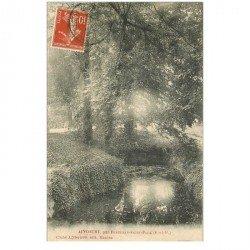 carte postale ancienne 95 AINCOURT. Par Fontenay Saint Père 1909