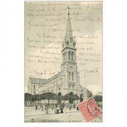 carte postale ancienne 95 ARGENTEUIL. La Basilique 1906