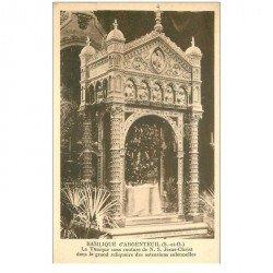 carte postale ancienne 95 ARGENTEUIL. Tunique Jésus Christ à la Basilique