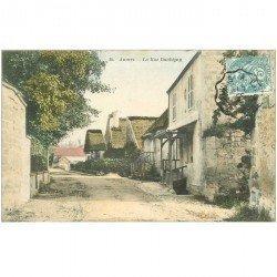 carte postale ancienne 95 AUVERS SUR OISE. Rue Daubigny 1907