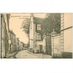 carte postale ancienne 95 BESSANCOURT. Entrée du Château rue Madame