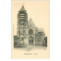 carte postale ancienne 95 BESSANCOURT. L'Eglise