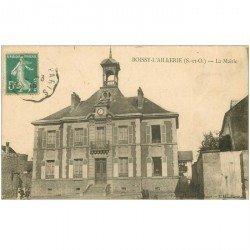 carte postale ancienne 95 BOISSY L' AILLERIE. La Mairie 1915