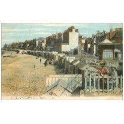 carte postale ancienne 14 SAINT-AUBIN. L'Eglise 1904