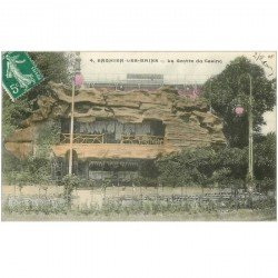 carte postale ancienne 95 ENGHIEN LES BAINS. La Grotte du Casino