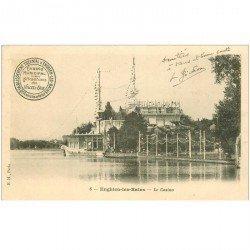 carte postale ancienne 95 ENGHIEN LES BAINS. Le Casino 1904