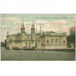 carte postale ancienne 95 ENGHIEN LES BAINS. Le Casino 1915