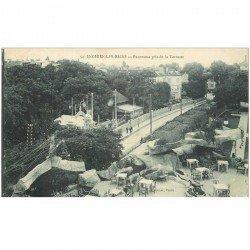 carte postale ancienne 95 ENGHIEN LES BAINS. Panorama pris de la Terrasse