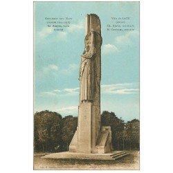 carte postale ancienne 02 LAON. Monument aux Morts 1932. Timbres manquants...