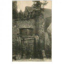 carte postale ancienne 95 MONTMORENCY. Eglise ancienne Ruines