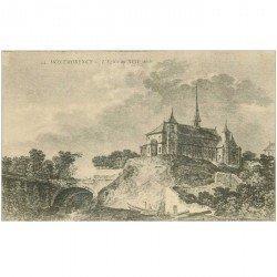 carte postale ancienne 95 MONTMORENCY. Eglise au XVII siècle