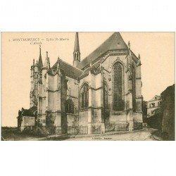 carte postale ancienne 95 MONTMORENCY. Eglise Saint Martin Abside