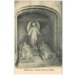 carte postale ancienne 95 MONTMORENCY. Eglise Tombeau
