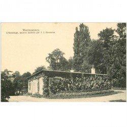 carte postale ancienne 95 MONTMORENCY. L'Ermitage habitée par Rousseau