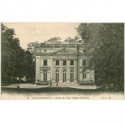 carte postale ancienne 95 MONTMORENCY. Mairie Hôtel de Ville