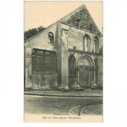 carte postale ancienne 95 MONTMORENCY. Monastère rue au Pain