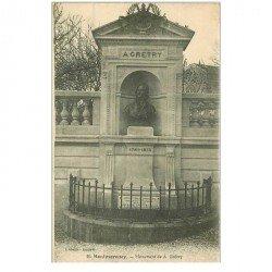 carte postale ancienne 95 MONTMORENCY. Monument Gréty
