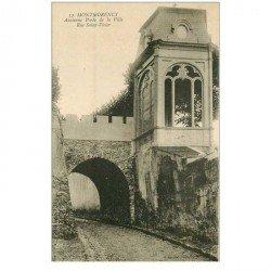 carte postale ancienne 95 MONTMORENCY. Porte de la Ville rue Saint Victor