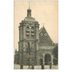 carte postale ancienne 95 PONTOISE. Eglise Notre Dame 1905