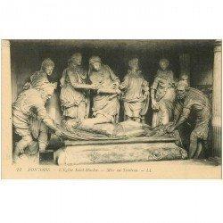 carte postale ancienne 95 PONTOISE. Eglise Saint Maclou mise au Tombeau