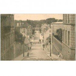 carte postale ancienne 95 PONTOISE. La Rue Thiers 1903