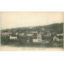 carte postale ancienne 95 TAVERNY. Vue générale 1915