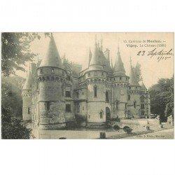 carte postale ancienne 95 VIGNY. Le Château 1915