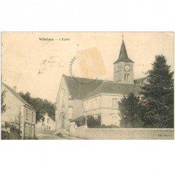 carte postale ancienne 95 VILLAINES. L'Eglise